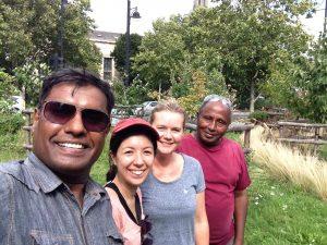 Volunteering at Brixton Community Orchard