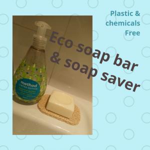 Eco soap bar & soap saver