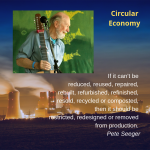Music and Environment, helping the circular economy