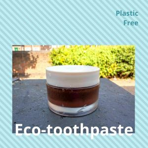 Natural handmade toothpaste