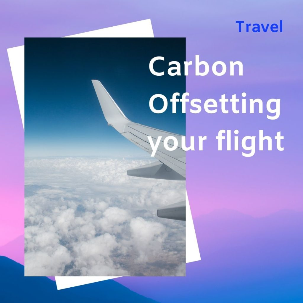 Carbon Offsetting your flight