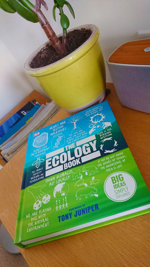 The Ecology Book foreword by Tony Juniper and reviewed by Jon