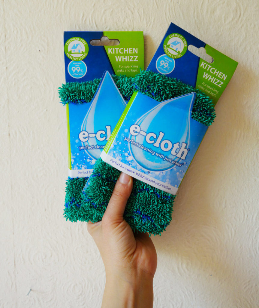 Eco household items - E-Cloth sponge