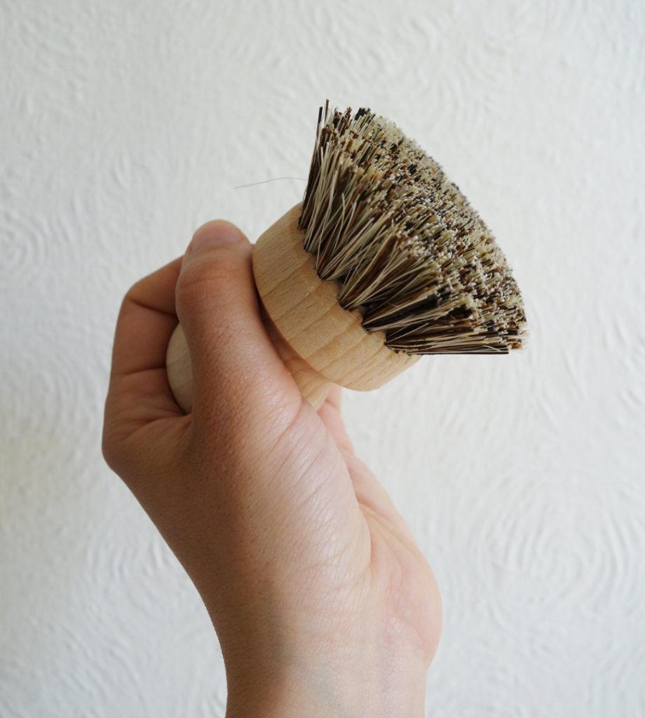 Eco household items - Pot Brush